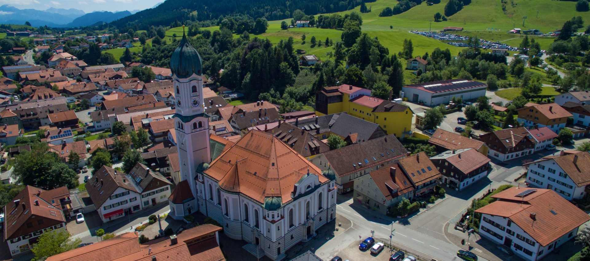 Kirche in Nesselwang